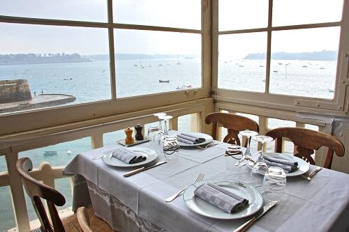 Hotel ;Printania;Dinard;restaurant