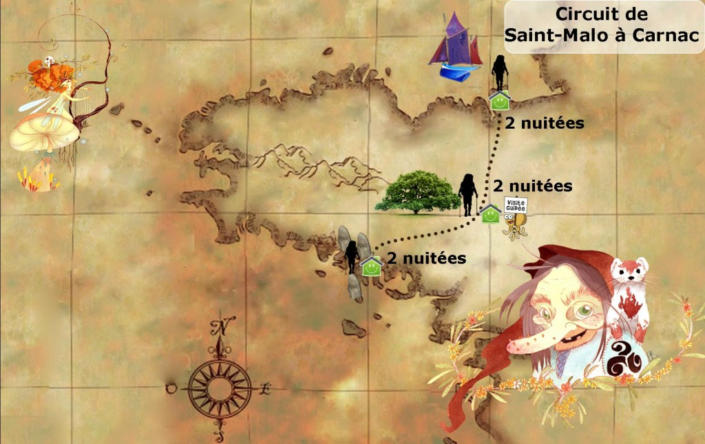 carte-bretagne circuit-saint-malo