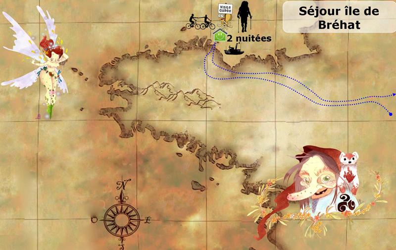 Itinéraire du séjour