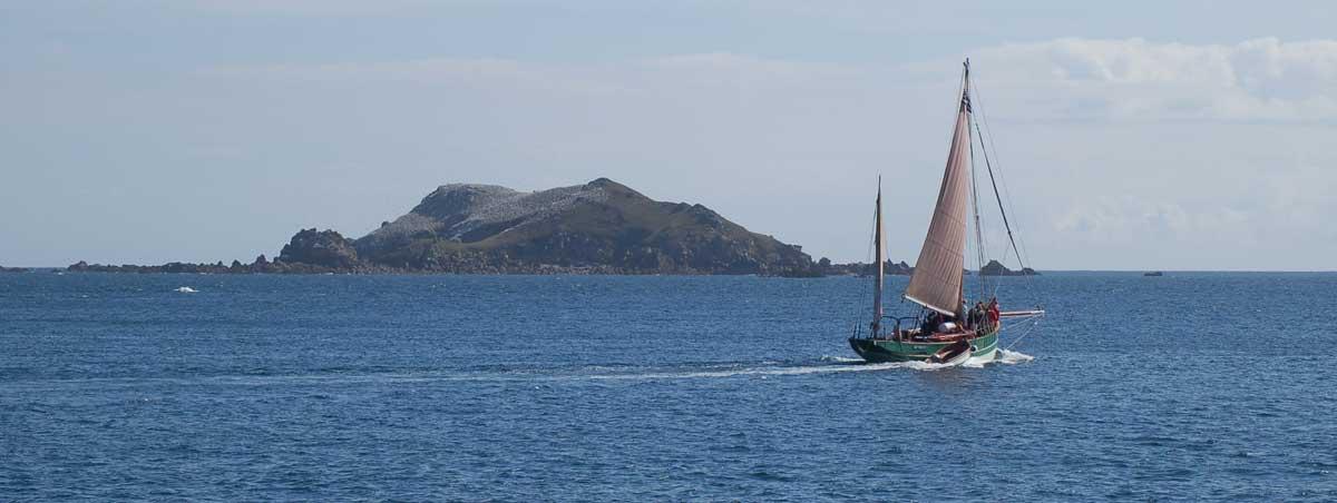 Destination les Îles de Bretagne