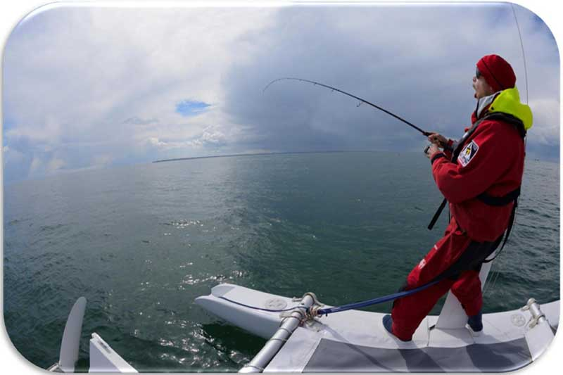 Pêche en mer en Bretagne