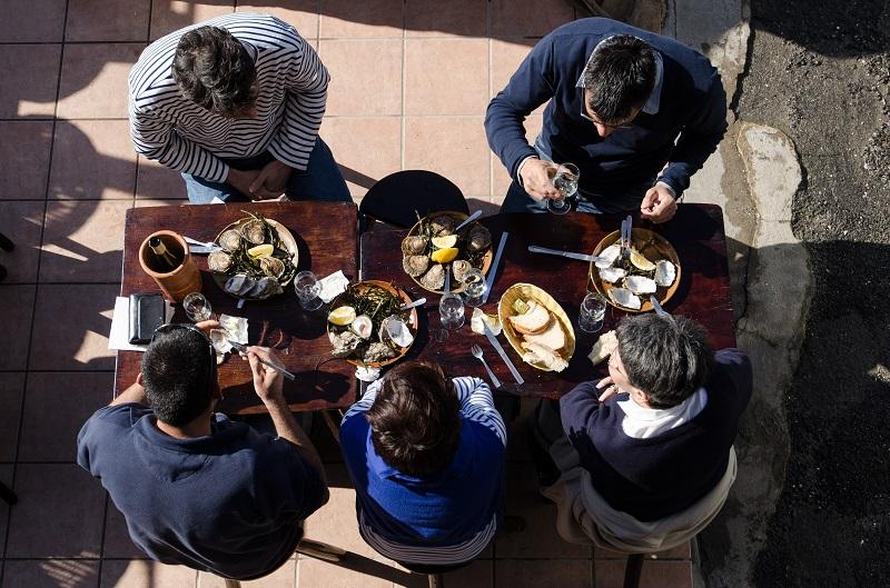 Visite de Cancale et la degustation d'huitres