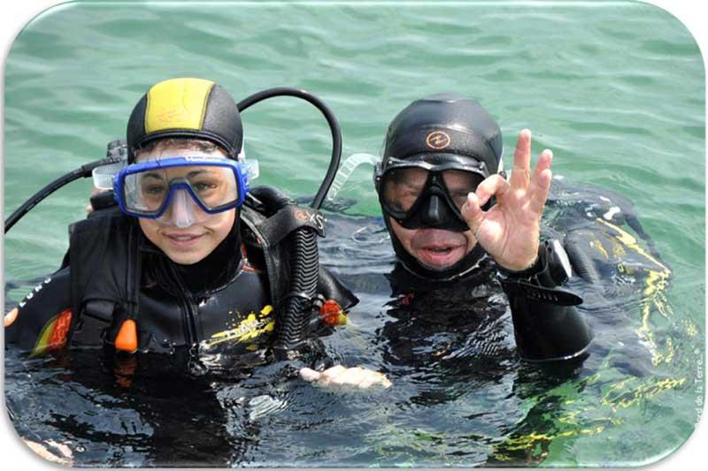 Plongée sous-marine en Bretagne