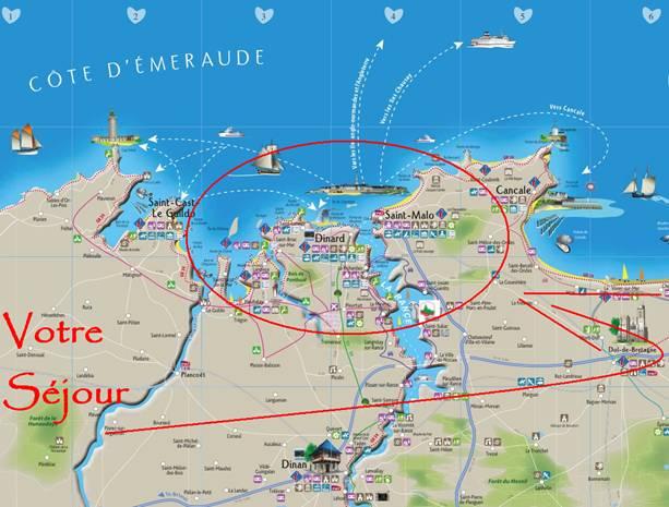 Circuit p destre saint malo dinard agence voyages for Agence paysage bretagne